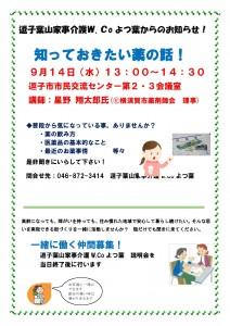 各W.Co企画紹介2016.8(薬の話2)改定