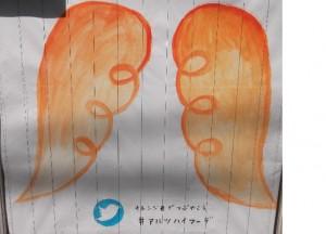 オレンジ羽